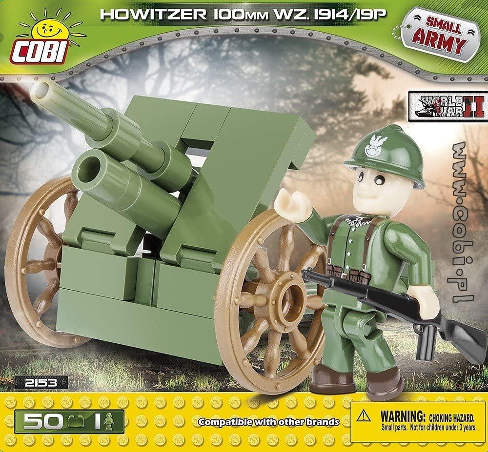 COBI - SMALL ARMY, Howitzer 100mm WZ. 1914/19P, Haubitze, Bausatz + 1 Figur für 5,59€ (Amazon Prime & Thalia Club)