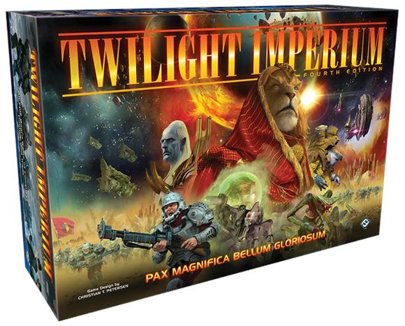 Twilight Imperium 4th Edition, Brettspiel, BGG 8.7