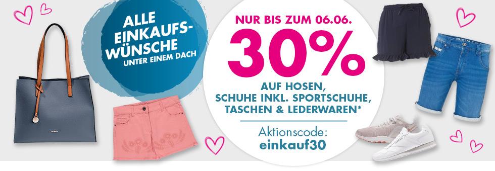 30% Rabatt (auch auf reduziertes) auf Hosen, Schuhe, Taschen und Lederwaren bei Galeria Karstadt Kaufhof,z.B. Levis Herren Boots für 24,49€