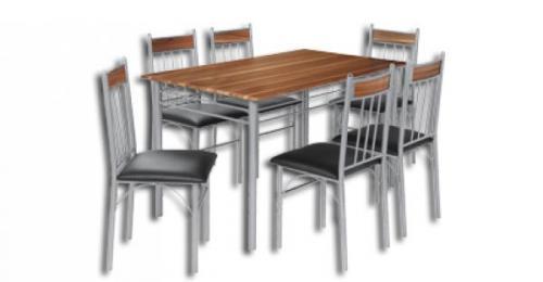 (Lokal) Drehtürenschrank oder Tischgruppe mit 6 Stühlen für 79€ @ Poco Domäne