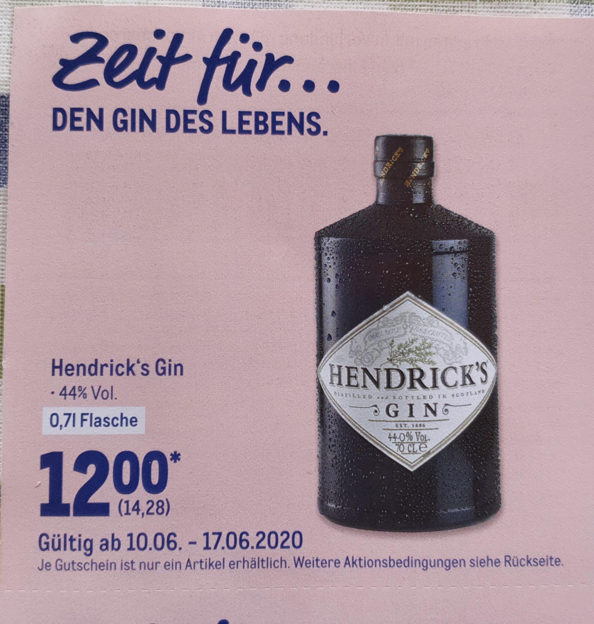 [Metro] Hendrick's Gin 0.7 Liter