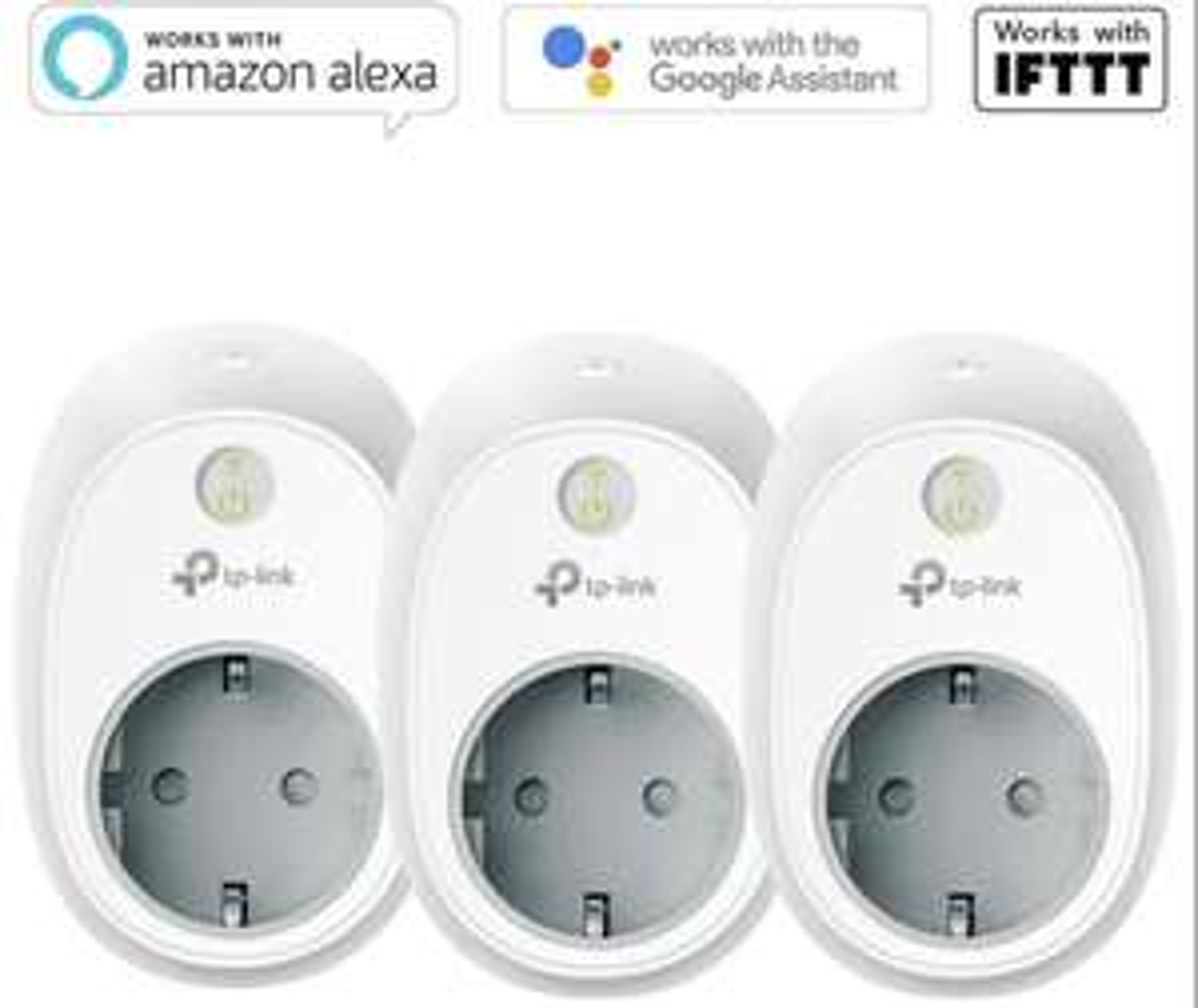 3 Stück TP-Link Kasa HS100 Smart Plug WLAN Steckdose geeignet für Alexa Google Home usw. für 35,99€ inkl. Versandkosten mit Visa