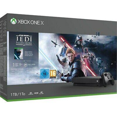 Microsoft Xbox One X 1TB – Star Wars Jedi: Fallen Order Bundle für 275,08€ inkl. Versandkosten