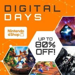 "Nintendo eShop-Angebotsaktion: (bis zu 80%) ""Digital Days""-Aktion 2020"