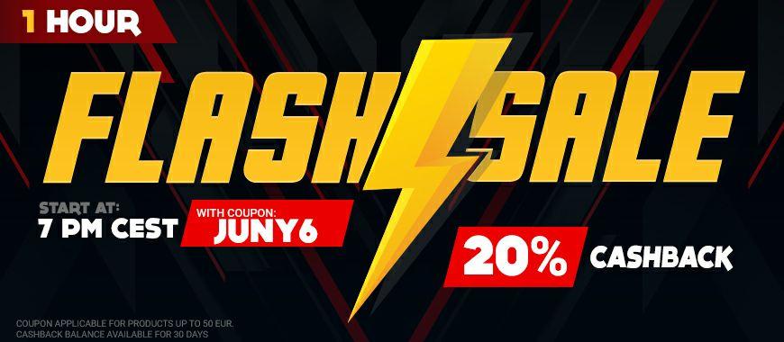 Gamivo 20% Cashback