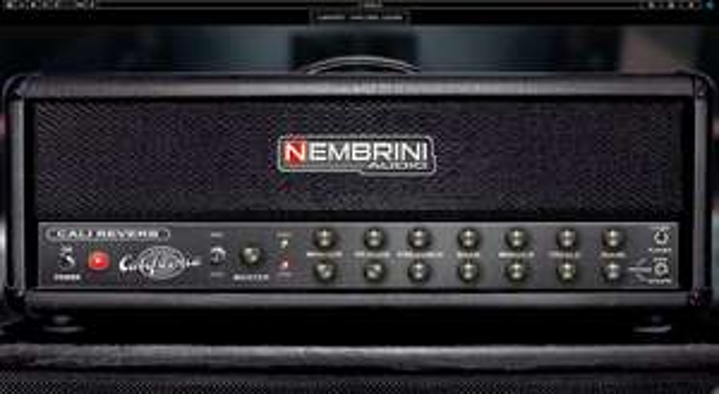 [ VST / Modeling / E-Gitarre ] Nembrini Cali Reverb VST Plugin