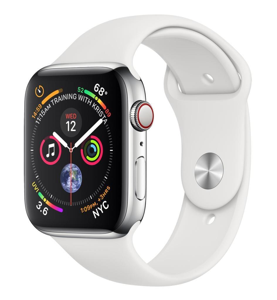 Apple Watch Series 4 44mm GPS + LTE Edelstahlgehäuse