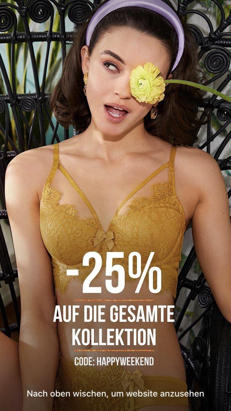 25% bei Hunkemöller