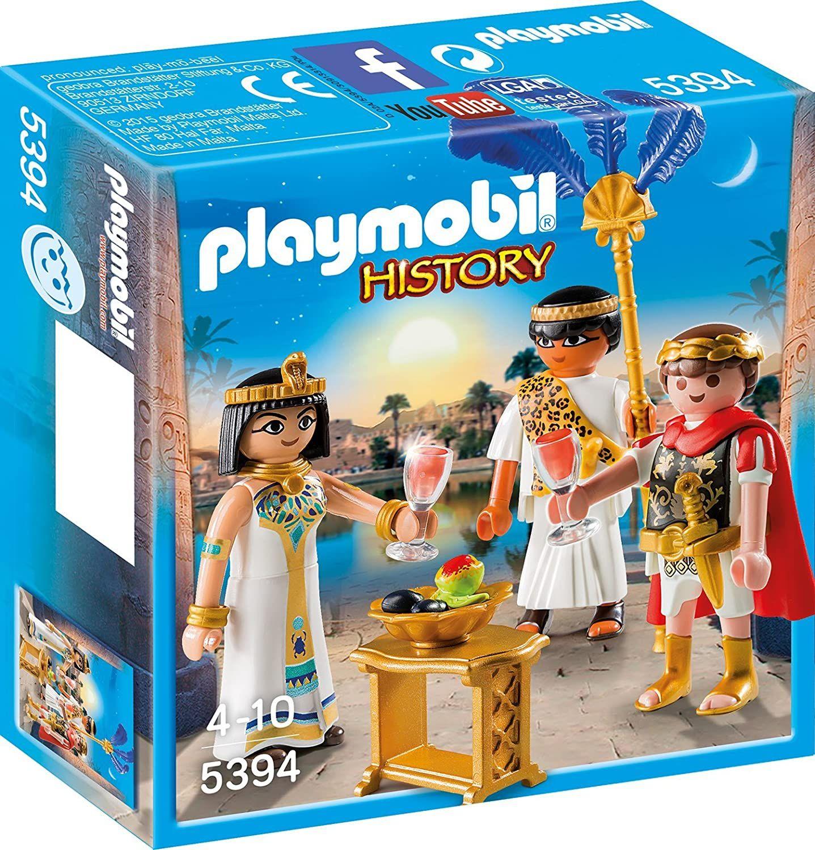 Playmobil History - Cäsar & Kleopatra (5394) [Amazon Prime]