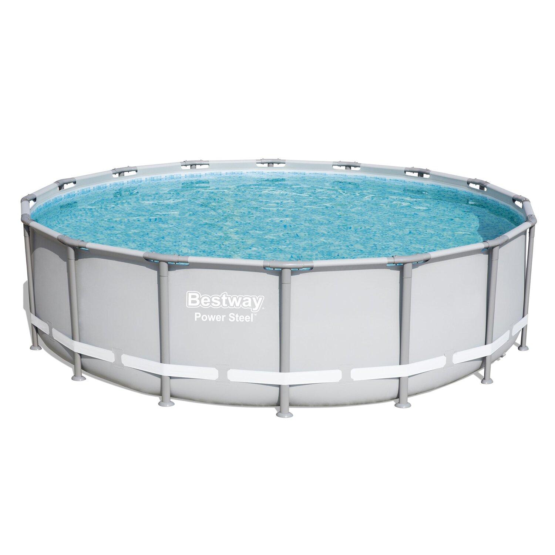 [obi.de] Verfügbar: Bestway Stahlrahmen Pool Set Ø 488 cm x 122 cm