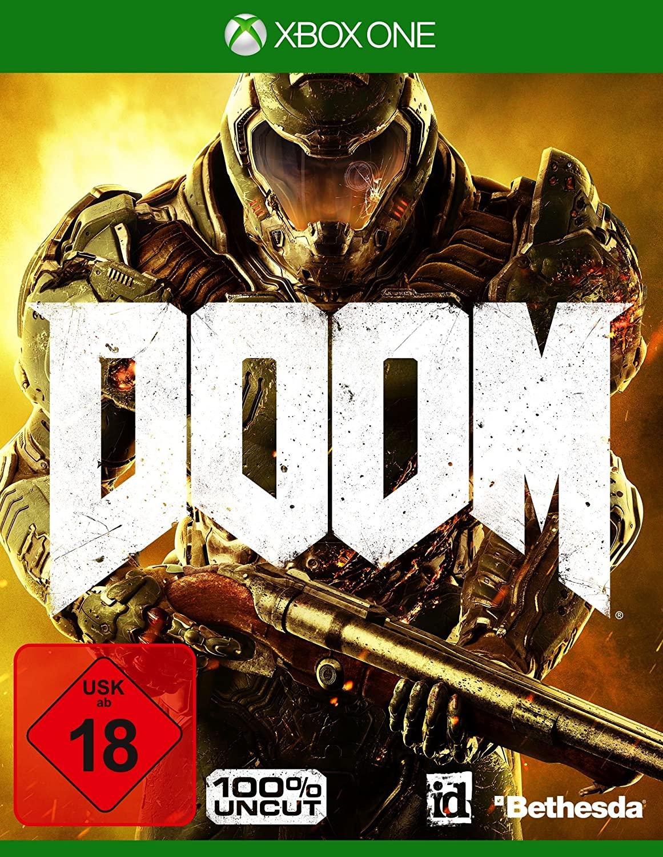 Doom Day One Edition (Xbox One) für 9,99€ (Müller Abholung)