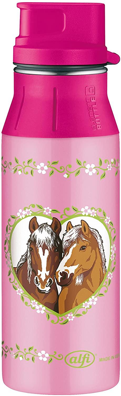 Alfi Element Bottle Trinkflasche für Schule, Kindergarten und unterwegs Pferdemotiv (600 ml) (Amazon Prime)