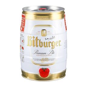 Bitburger Premium Pils Partyfass 5L für nur 7,49€ ab 12.06. [ALDI-NORD]