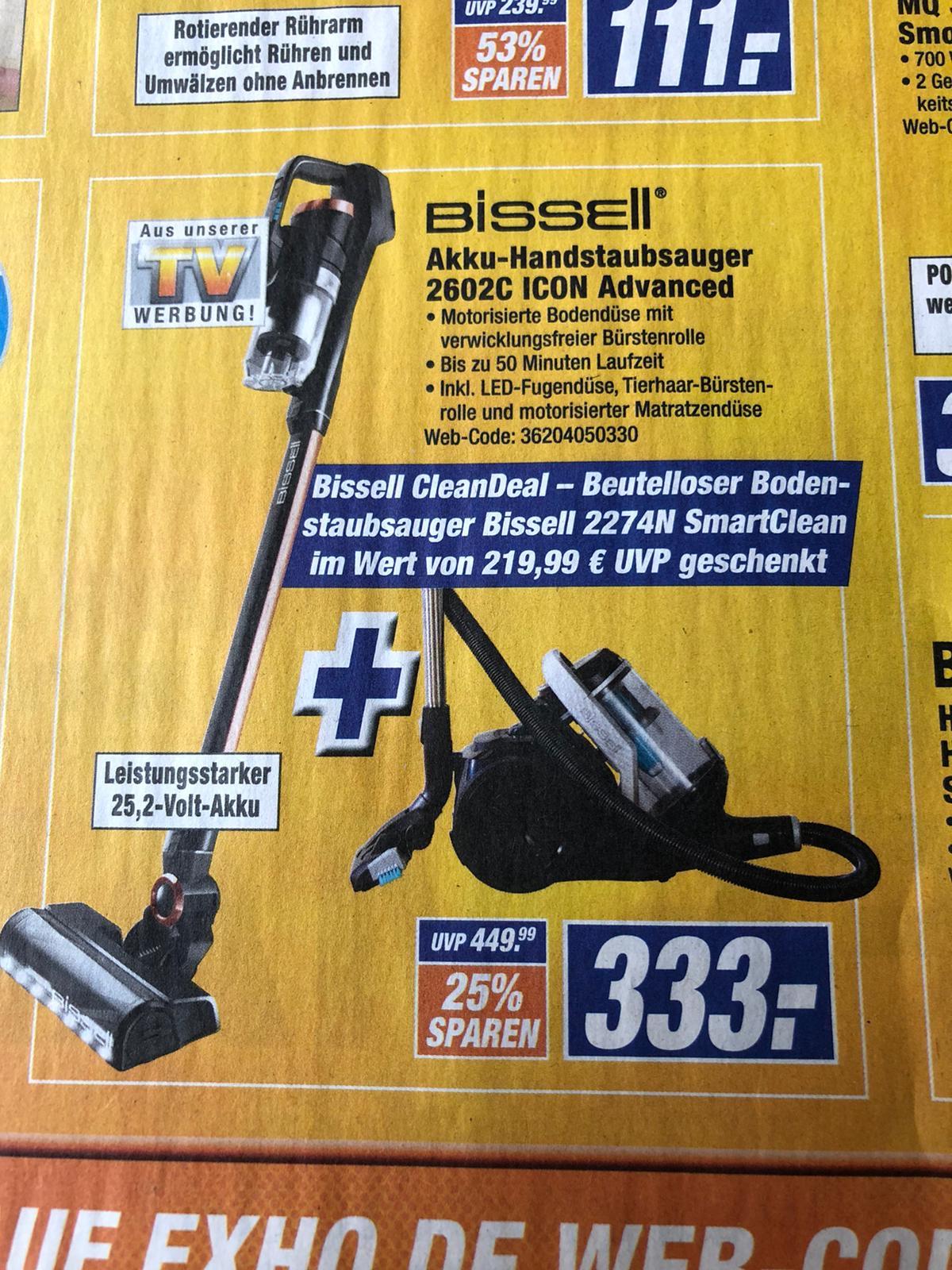 (Expert) Bissell Icon 25V Handstick + SmartClean Beutelloser Staubsauger kostenlos - 333 € stationär