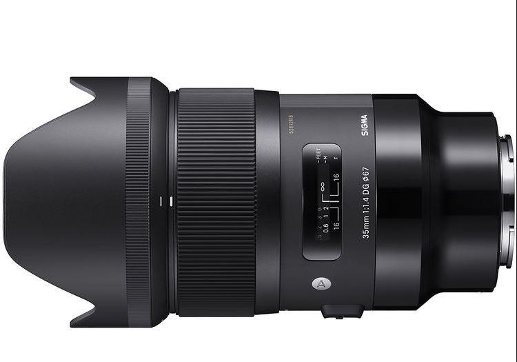 [eglobal central] Sigma ART 35mm F1.4 DG HSM Sony-E Mount [Grauimport]