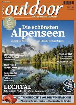 Outdoor Magazin Abo (12 Ausgaben) für 65,80 € mit 50 € BestChoice-Gutschein (Kein Werber nötig)