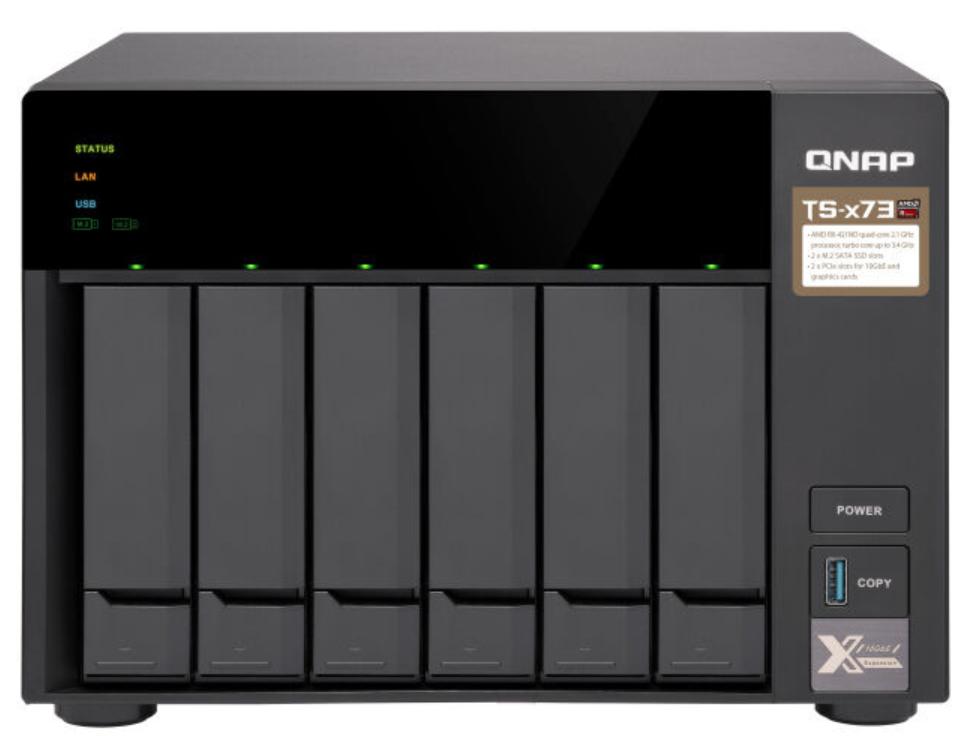 Wochenangebote bei Notebooksbilliger in der Übersicht: zB QNAP TS-673-4G 6-Bay NAS [0/6 HDD/SSD, 4x Gbit RJ45, 4x USB, 4GB RAM]