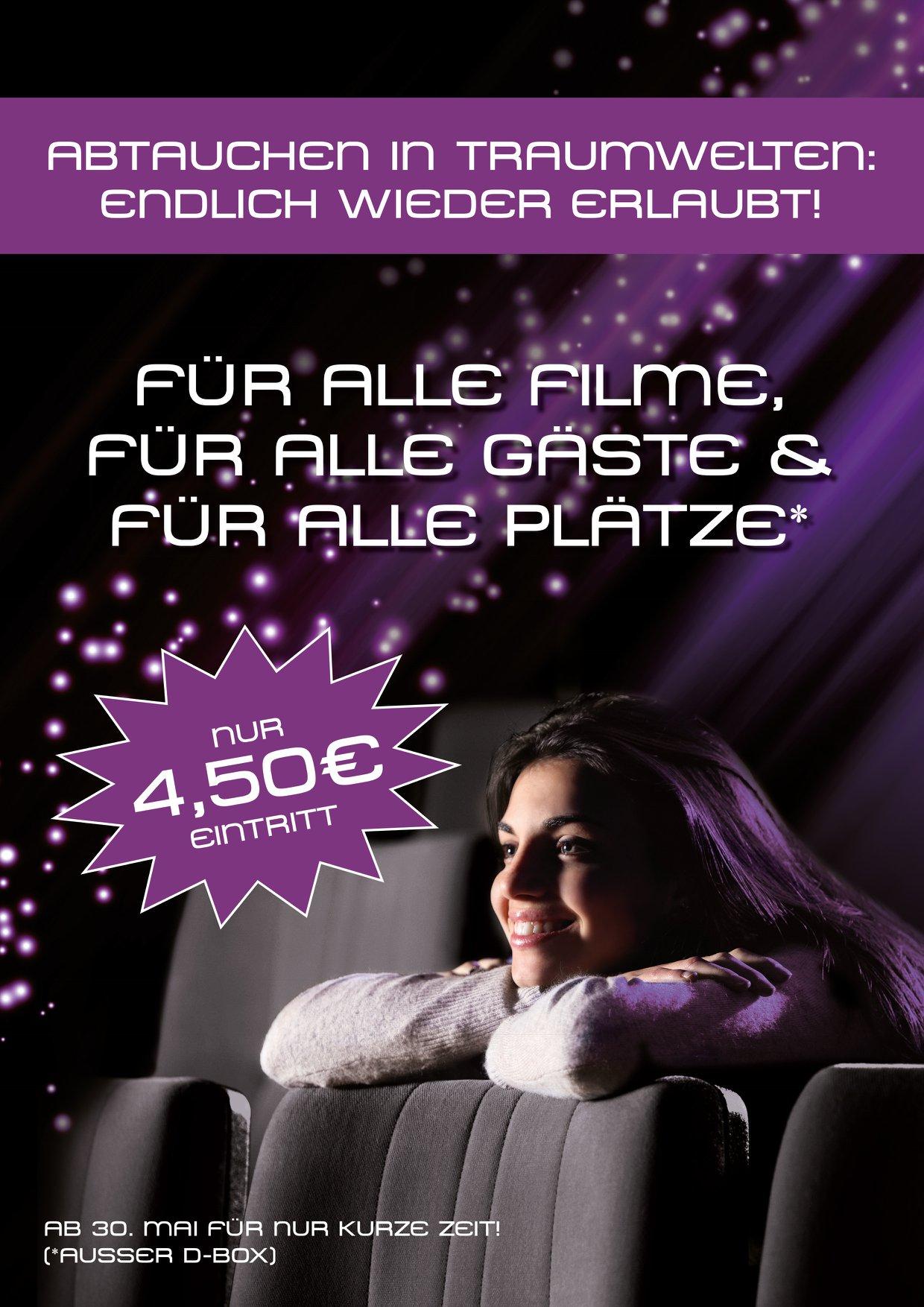 [Lokal Düren & Solingen] Das Lumen Kino für 4,50 € auf allen Plätzen