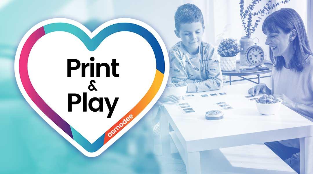 [Asmodee] Brettspiele oder Erweiterungen als Print & Play / 7 Wonders Duel, Zug um Zug, Dixit, Carcassonne, Love Letter, T.I.M.E Stories