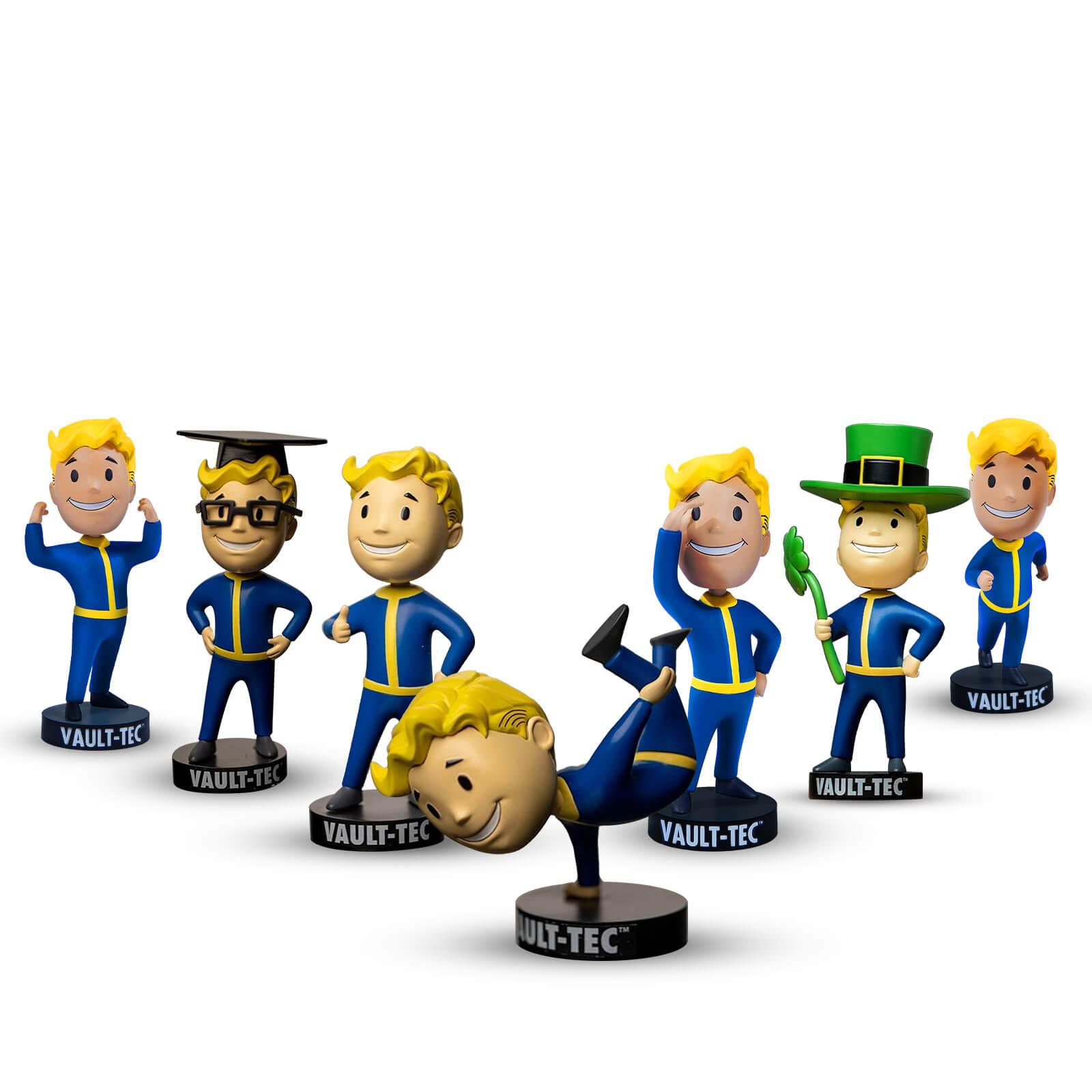 [Zavvi] Gaming Merchandise & Collectibles Sale - z.B. Fallout Vault Boy S.P.E.C.I.A.L. Bobblehead komplettes Set