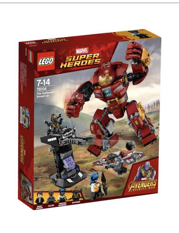 Lego 76104 Der Hulkbuster EOL Spielwaren Krömer