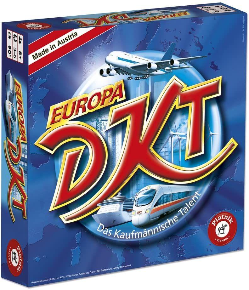 Piatnik 6373 DKT - Das Kaufmännische Talent Europa [Amazon Prime]
