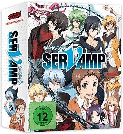 Servamp - Vol. 1 - Limited Edition mit Sammelbox [Blu-ray] [Mediamarkt Abholung]