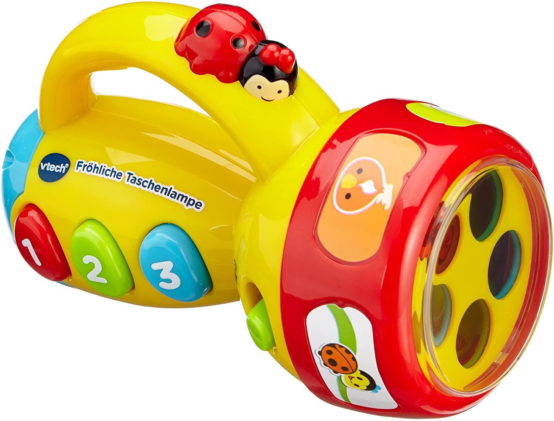 Vtech Baby Fröhliche Taschenlampe, gelb
