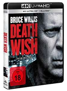 Death Wish (4K UlHD & Blu-ray) (Amazon)