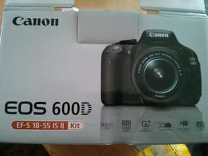 Canon EOS 600D Kit 18-55mm (Lokal)
