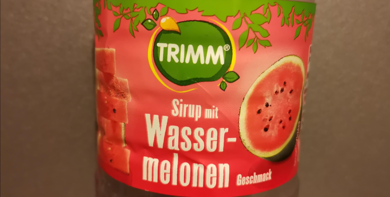 Norma: Trimm Fruchtsirupe in verschiedenen Sorten z.B. Wassermelone/Pfirsich/Kirsche