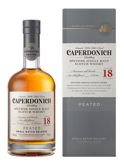 [wieder verfügbar] Caperdonich 18J. Peated Speyside Single Malt Scotch Whisky 48% (Rare Edition) - Geschlossene Brennerei