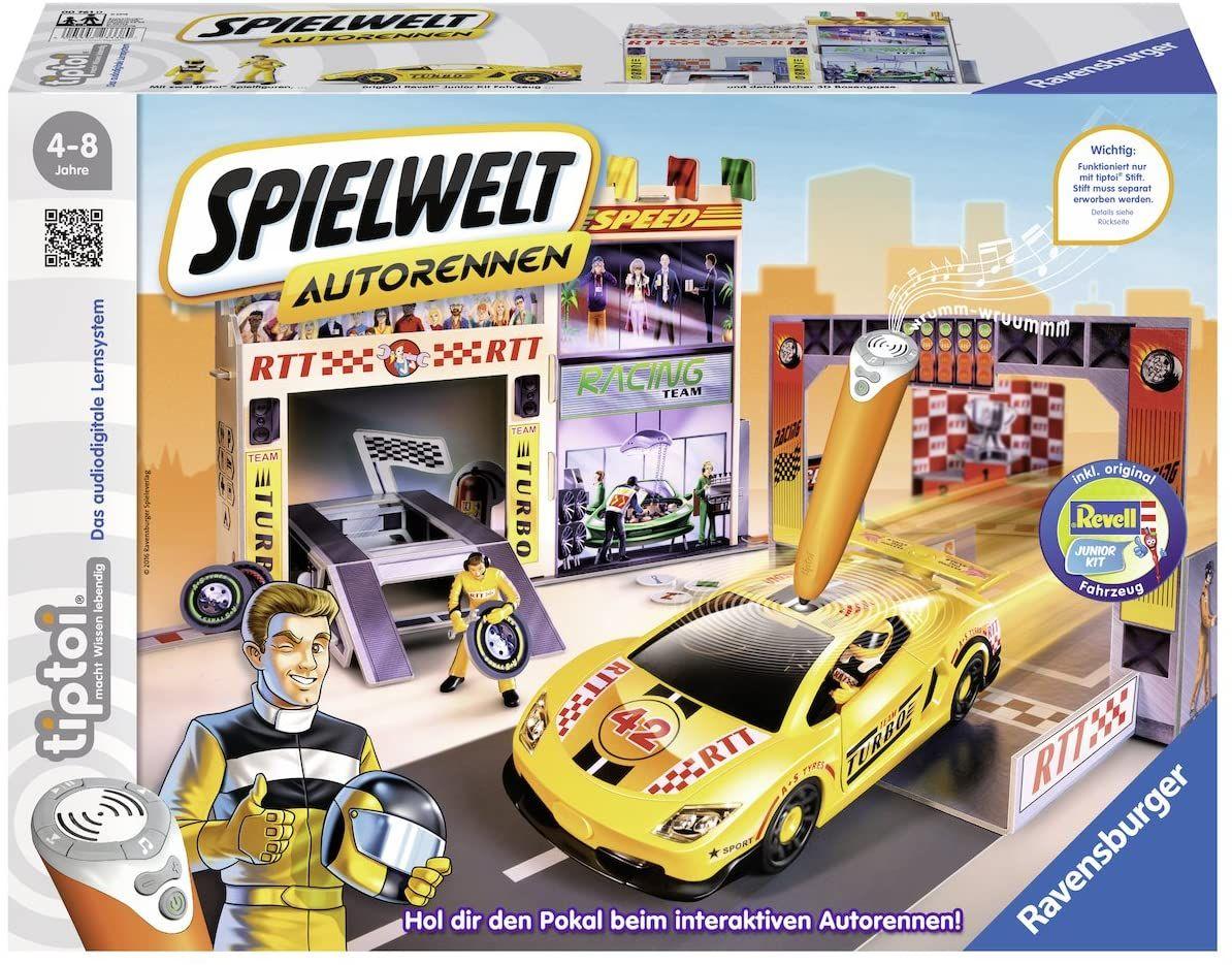 Ravensburger 00761 - tiptoi® Spielwelt Autorennen [Amazon Prime]
