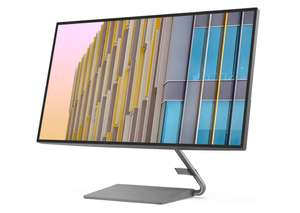 Lenovo Q27h-10 27 Zoll QHD Widescreen Slim Bezel Monitor USB-C Power Delivery