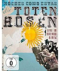 Die Toten Hosen - Noches Como Estas Live in Buenos Aires (Blu-ray) für 5,84€ (Amazon Prime & Saturn & Media Markt Abholung)
