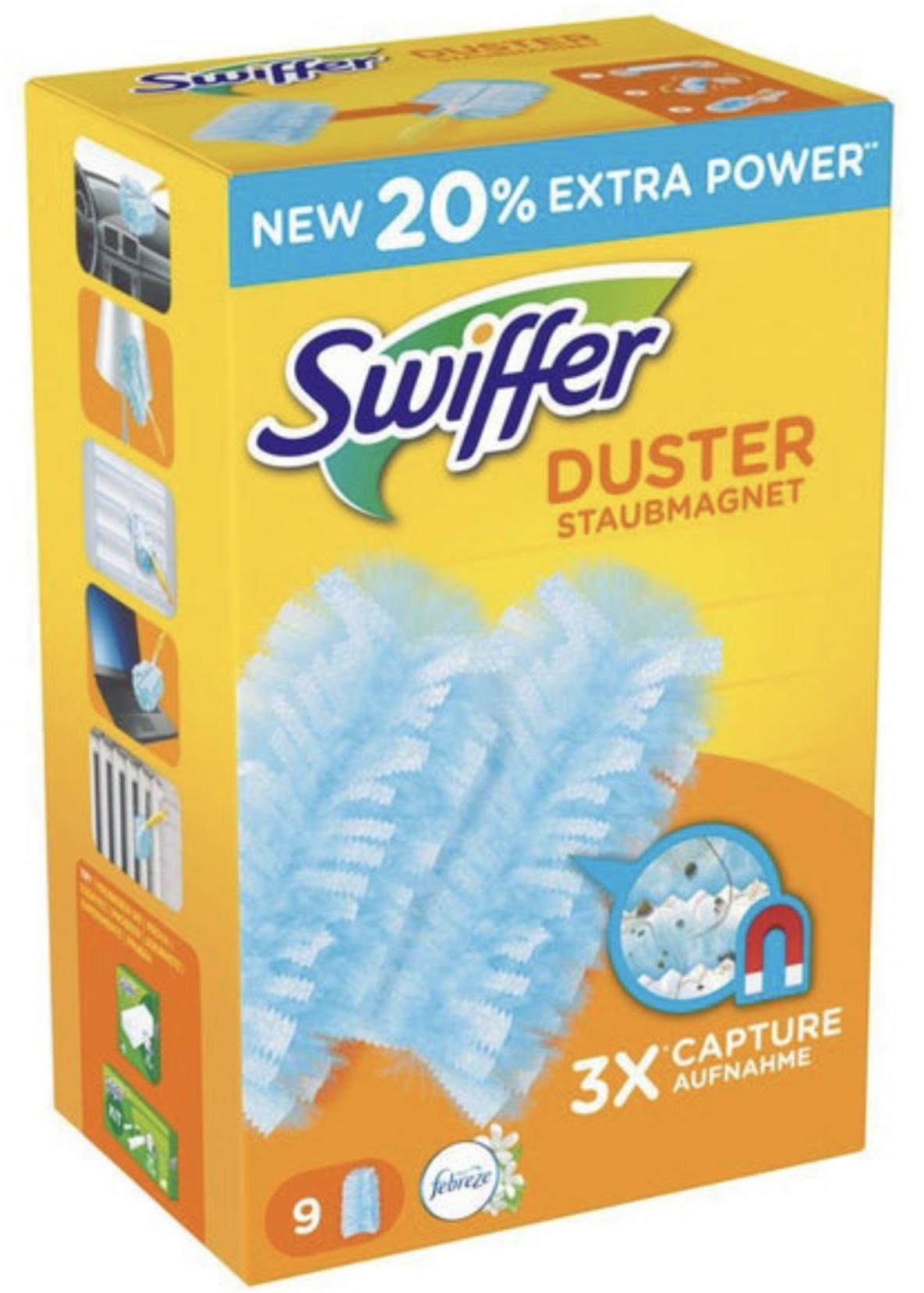 [Rossmann] Swiffer Duster Staubmagnet-Tücher - Durch Gutscheinkombi 9 Stück für € 1,79 (€ 0,199 pro Tuch)