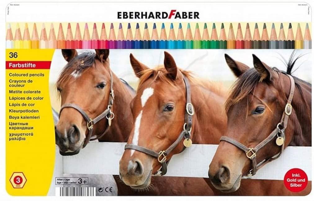 Eberhard Faber Hexagonal-Buntstifte, 36er Metalletui für 6,99€ (Amazon Prime & Galeria Kaufhof Abholung)