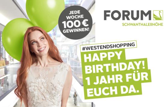 [München] Heute Donut und Eis kostenlos im Forum Schwanthalerhöhe, weitere Aktionsangebote (App + Registrierung)