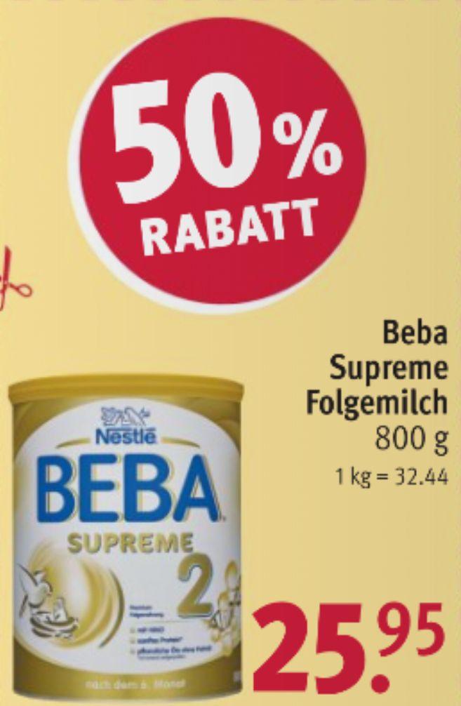 [Rossmann] BEBA Supreme Folgemilch