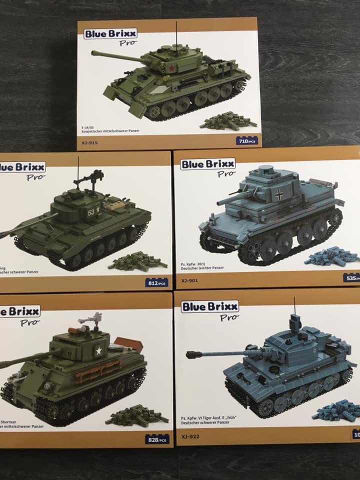 [Klemmbausteine] BB Pro 5er Panzer-Set @ frankensteins.de