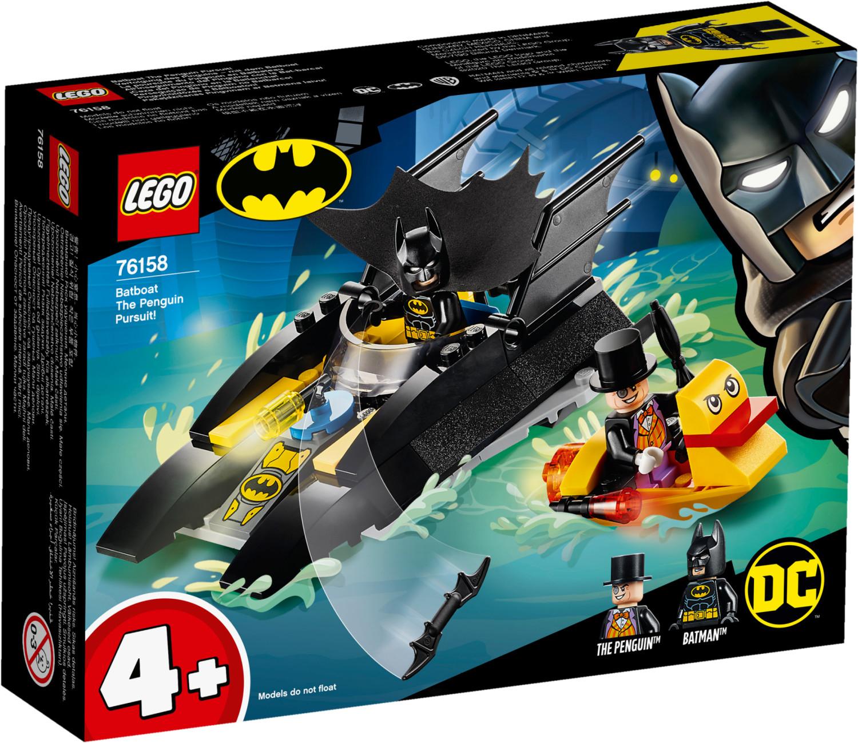 LEGO DC Super Heroes: Batman - Verfolgung des Pinguins mit dem Batboat (76158) für 6,99€ (Müller Abholung & Amazon Prime)