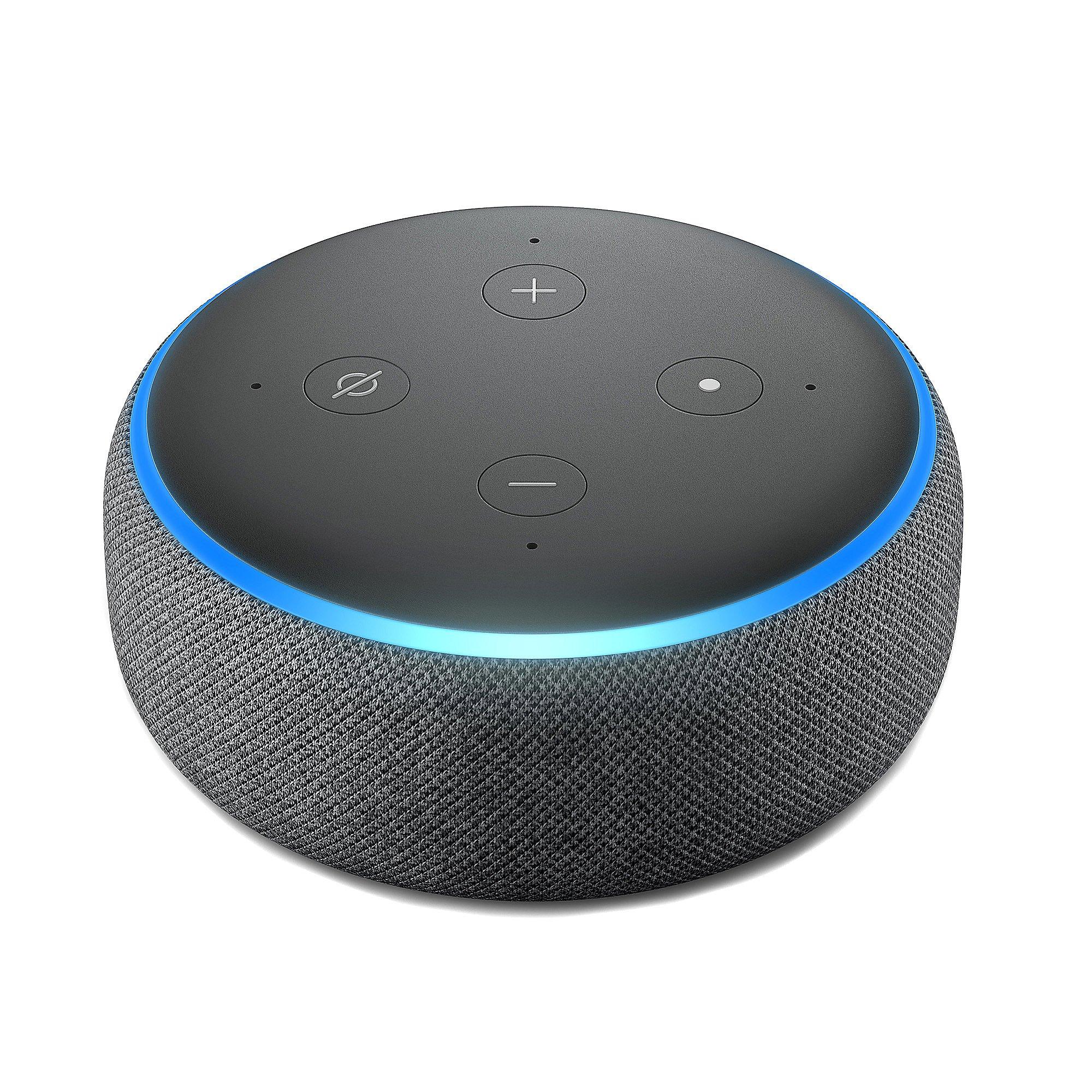 AMAZON Echo Dot 3rd Gen inkl. Smart-Steckdose Tapo P100