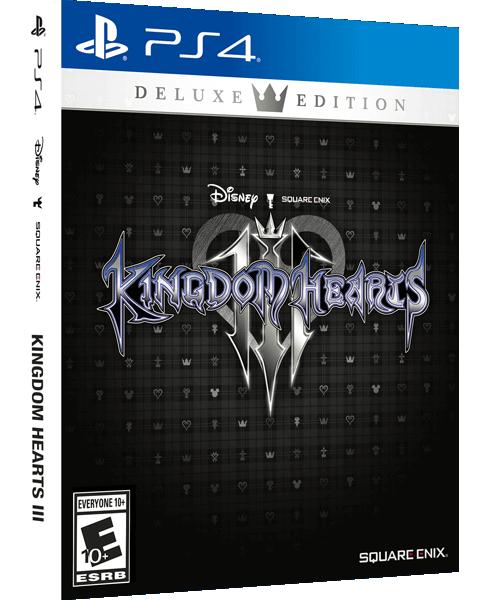 €29.99 - Kingdom Hearts III (Deluxe Edition) - [PlayStation 4], bei MediaMarkt