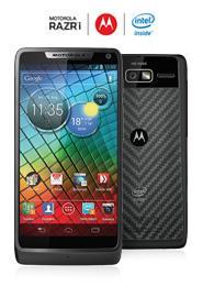 [Sparhandy] Alter Bekannter: Motorola RAZR I mit o2 Blue XS