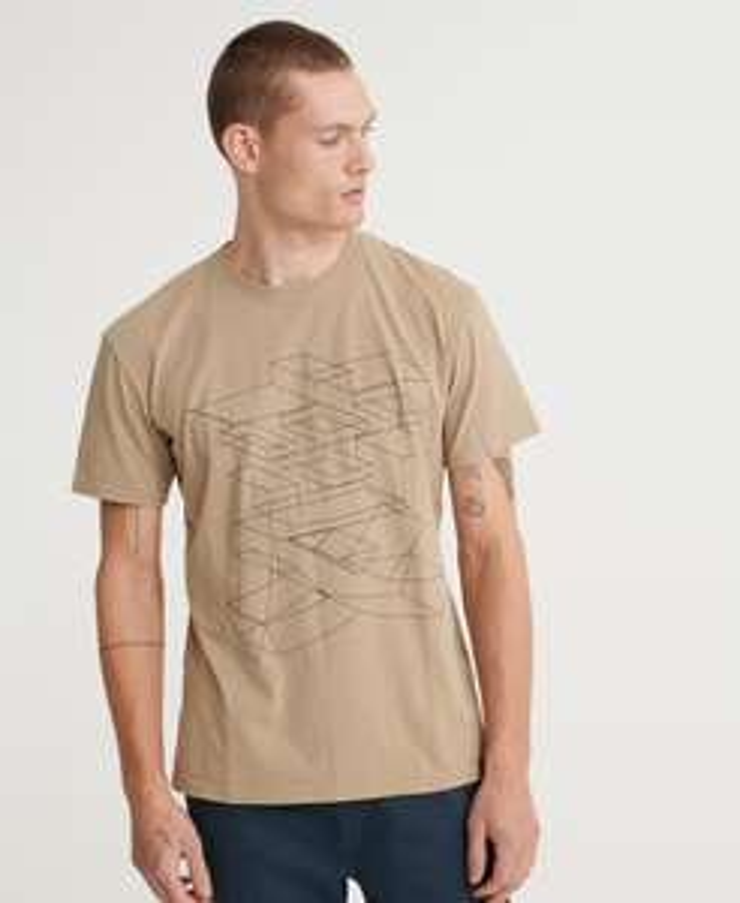 50% Rabatt im Dale bei SUPERDRY + kostenloser Versand / Rückversand, z.B. Kanji Outline T-Shirt