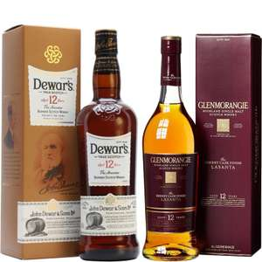 Whisky-Übersicht #31: z.B. Dewar's Special Reserve 12 Jahre (1 l) für 23,90€, Glenmorangie The Lasanta 12 Jahre 43% für 39,99€ inkl. Versand