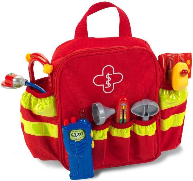 Theo Klein - Rettungsrucksack für Kinder 4317, online mifus 17,94€, offline Rofu 12,99€