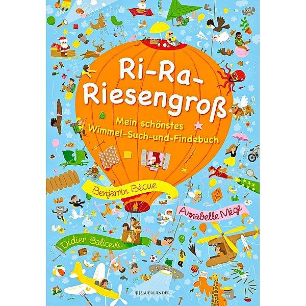 Ri-Ra-Riesengroß - Mein schönstes Wimmel-Such-und-Findebuch für 6,99 Euro [ Weltbild / Jokers ]