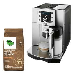 DeLonghi ESAM 5500.S Perfecta STARBUCKS Bundle