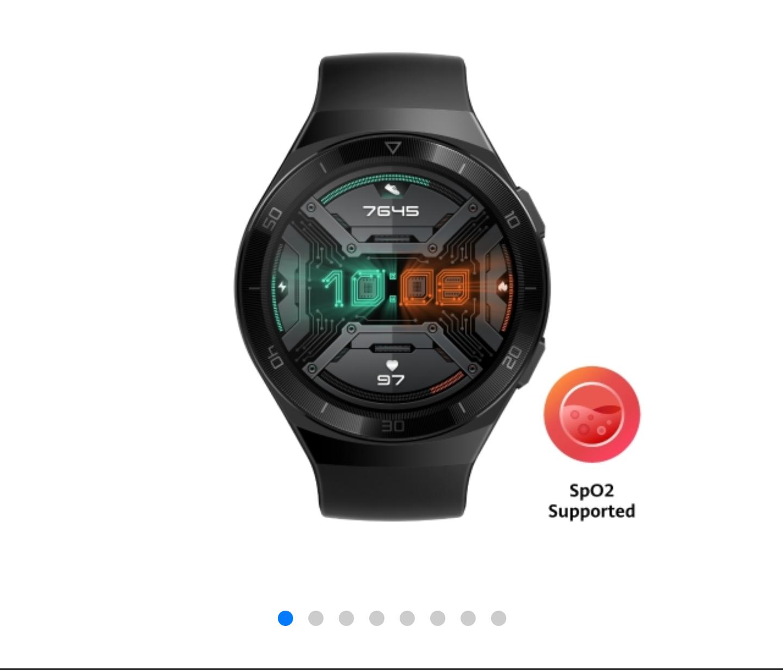 Huawei Smartwatch GT2e + Band 4 Pro